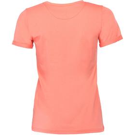 Triple2 Laag Handwrite T-Shirt Women Living Coral